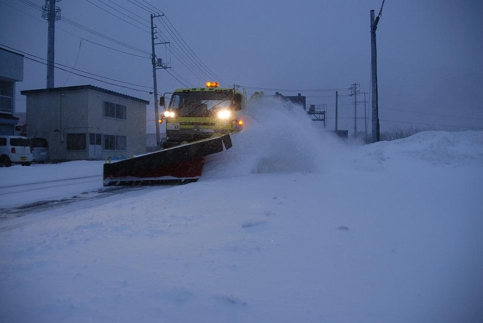 一般国道336号様似町様似道路維持除雪外一連工事
